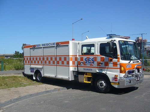 Heavy Rescue Truck